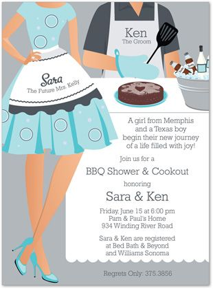 Couples Bridal Shower Theme Themes | Outdoor Bridal Shower vs BBQ Bridal Shower | Invitations & Party ...
