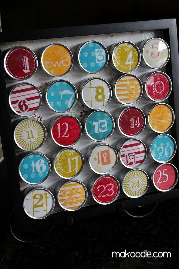 DIY Advent Calendar - 25+ Christmas advent calendars - NoBiggie.net