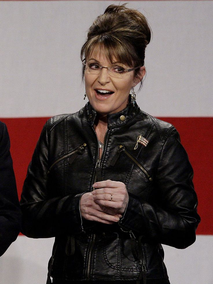 Sarah Palin Leather