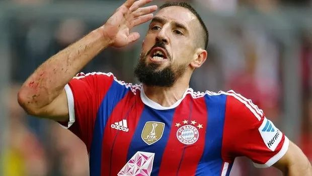 Franck Ribery - Top 6 current footballers who came from poverty- literally started from the bottom, from a near fatal accident when he was 2 yrs old ( hence his scars), to being a construction worker, to the bayern star he is today
