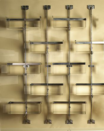 761: Vittorio Introini / shelving system < Circa 70, 6 December 2005 < Auctions | Wright