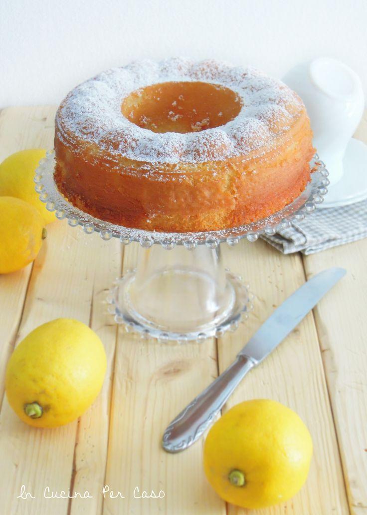 torta al limone morbida morbida - super soft lemon cake