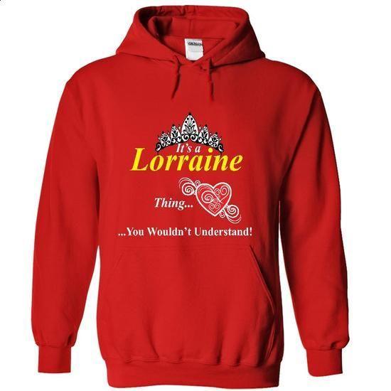 LORRAINE - #family shirt #cream sweater. PURCHASE NOW => https://www.sunfrog.com/Names/LORRAINE-4601-Red-9856966-Hoodie.html?68278