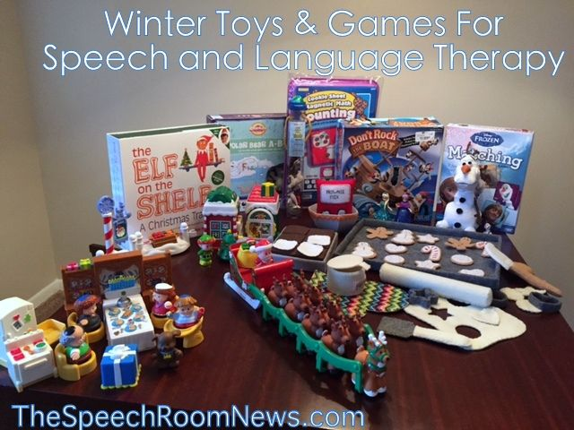 Toys For Winter : Speech room news winter toys and games for