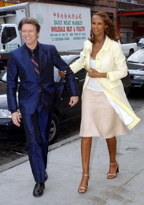 "davidssecretlover: "" David & Iman during Liv Tyler and Royston Langdon renew their wedding vows in New York, 2003 Photo © RJ Capak """