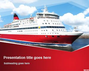 Free Cruise Ship PowerPoint Template | Free Powerpoint Templates