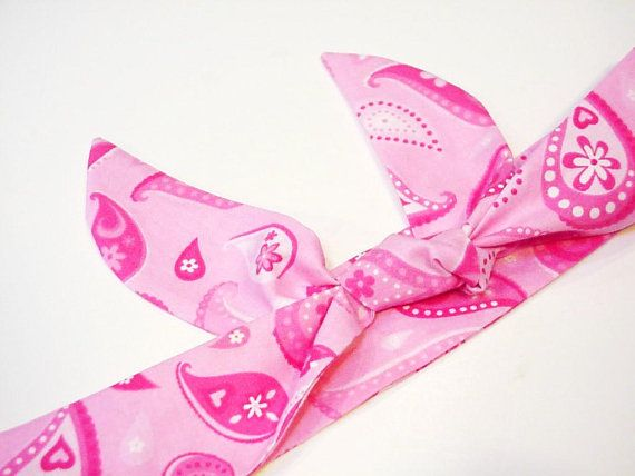 Pink Cooling Headband Gel Neck Cooler  Bandana Cooling by iycbrand, $9.99