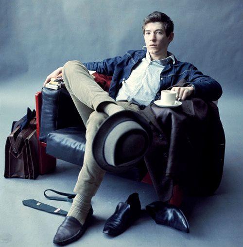 Ian McKellen, way back when.  Gandalf/Magneto