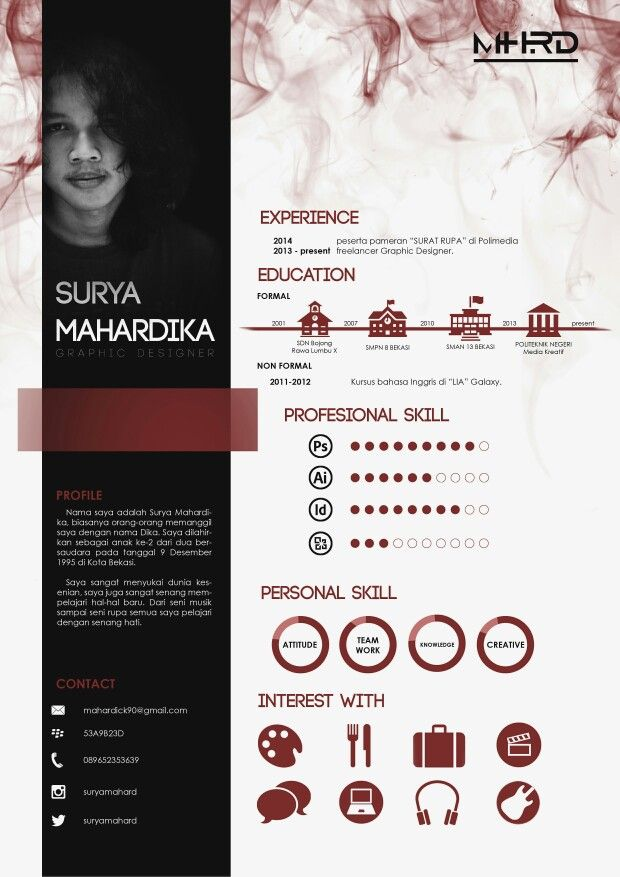 Best Creative Resumes New 29 Best Resume Images On Pinterest  Cv Template Resume Design And .