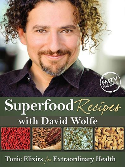 "Watch ""David Wolfe Superfood Recipes"" Online Now!   www.fmtv.com/program/superfood-recipes"