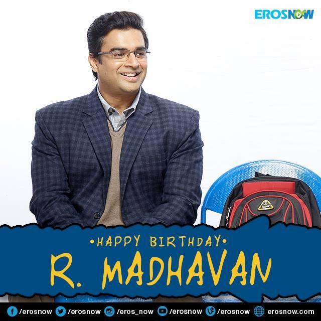 Here's wishing the super-talented & versatile actor R Madhavan, a very Happy Birthday!