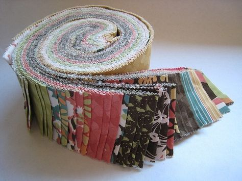 Free Jelly Roll quilt patterns.