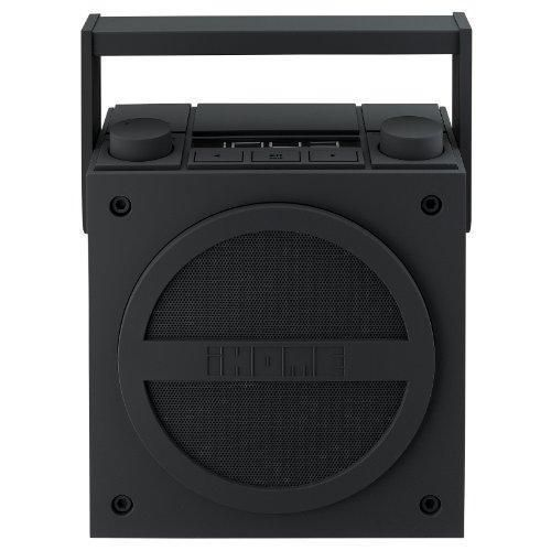 iHome-iBN4BC-Bluetooth-Rechargeable-Boombox-with-FM-Radio-New