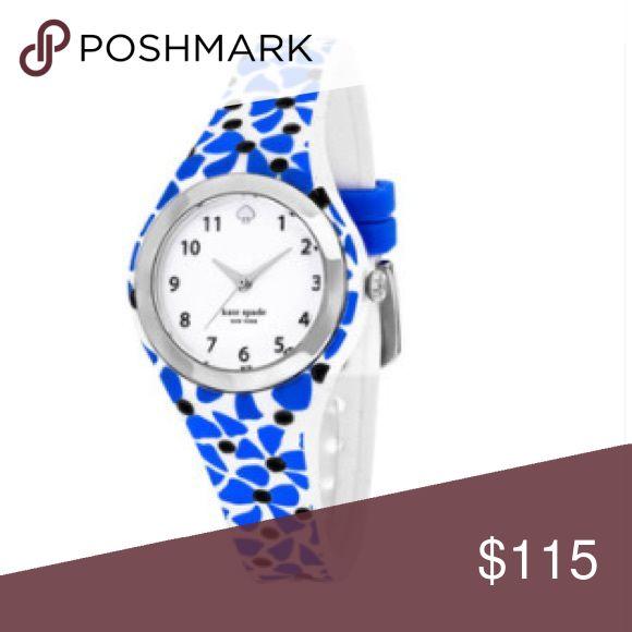 Kate Spade – Relógio de silicone azul Rumsey feminino da Kate Spade …   – My Posh Picks
