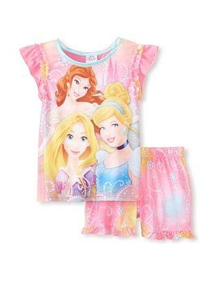 56% OFF Kid's Disney Princess 2-Piece Pajama Set (Assorted)