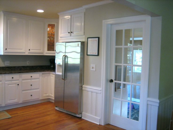 Warm Beige Paint Kitchen