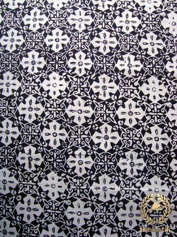 Kain #Batik Cap Jogja - Bintang Kelengan