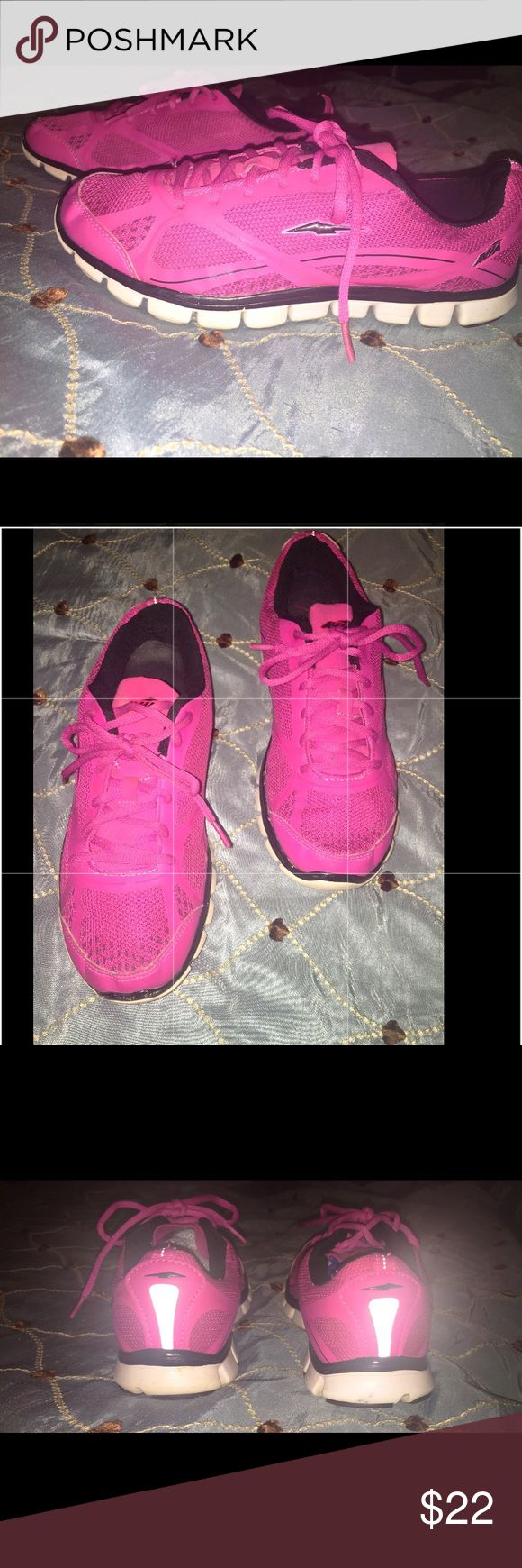 💋BRIGHT & BEAUTIFUL PINK Athletic Shoes Size 8. Only worn a couple of times. EXCELLENT CONDITION! Avia Shoes Sneakers