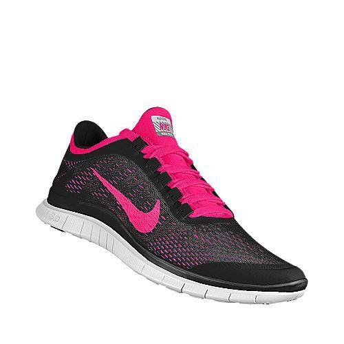Nike Free 3.0 Shield (Black/White/Pink Foil)