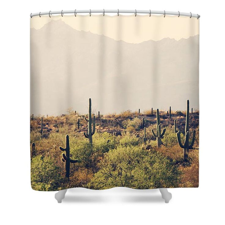 Cactus Shower Curtain - Desert Home Decor - Rustic Bathroom Decor - Southwest Photo - Tucson Decor - Bathroom Decor - Tan Green Brown by SylviaCPhotography on Etsy https://www.etsy.com/listing/286862569/cactus-shower-curtain-desert-home-decor