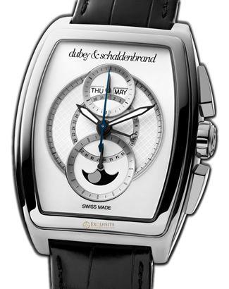 Dubey & Schaldenbrand Dome Designation White Dial