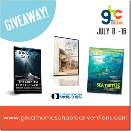 Creation Science FREEBIE Bundle - Creation Ministries International via Great Homeschool Conventions (offer ends at midnight July 16, 2013)