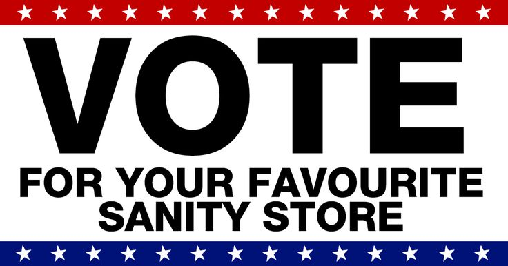 Vote for your favourite store for the chance to WIN a $500 Sanity gift card!