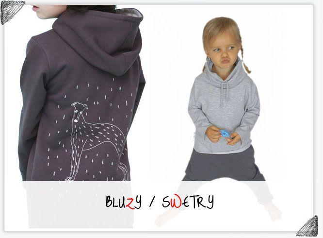 Bluzy od Pola&Frank, Maybe4baby, Kids of colours, Zombie Dash, Gapula, Babyhood, MaBiBi... Od wyboru może zakręcić się w głowie :)