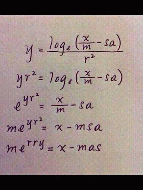 Wir wünschen Ihnen ein gesegnetes und friedliches Weihnachtsfest! Als Programmierer und Mathe-Fans glauben wir an den Algorit...
