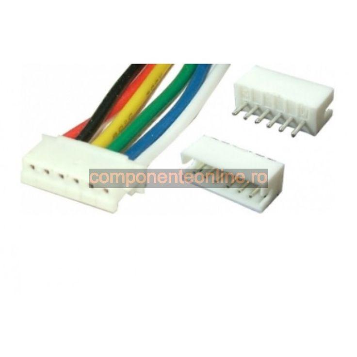 Cablu de semnal, 6 pini, 15cm - 173226
