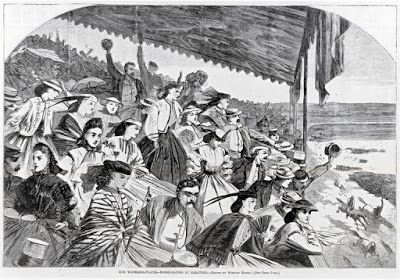 Our Watering Places--Horse-Racing at Saratoga, 1865.