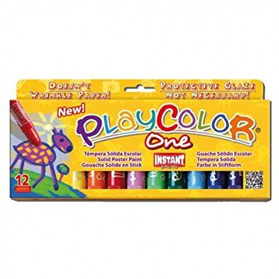 PlayColor One - Boîte de 12 couleurs assorties