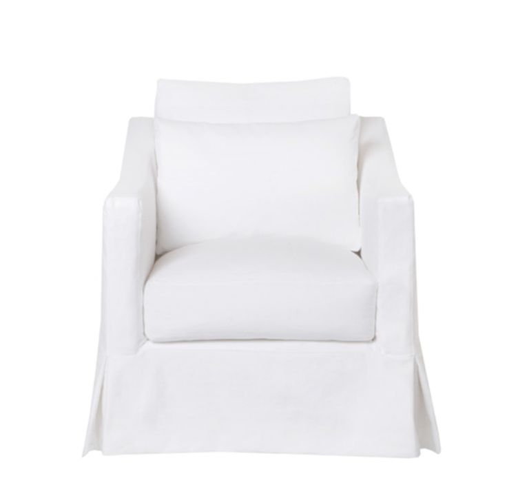 Rose Chair  Organic, Traditional, Transitional, Upholstery  Fabric, Swivel Chair by Renovation Room