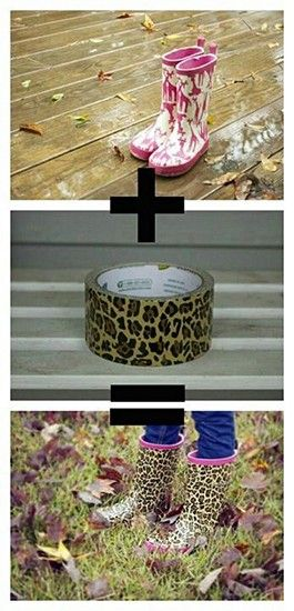 15 Things to make with duct tape.