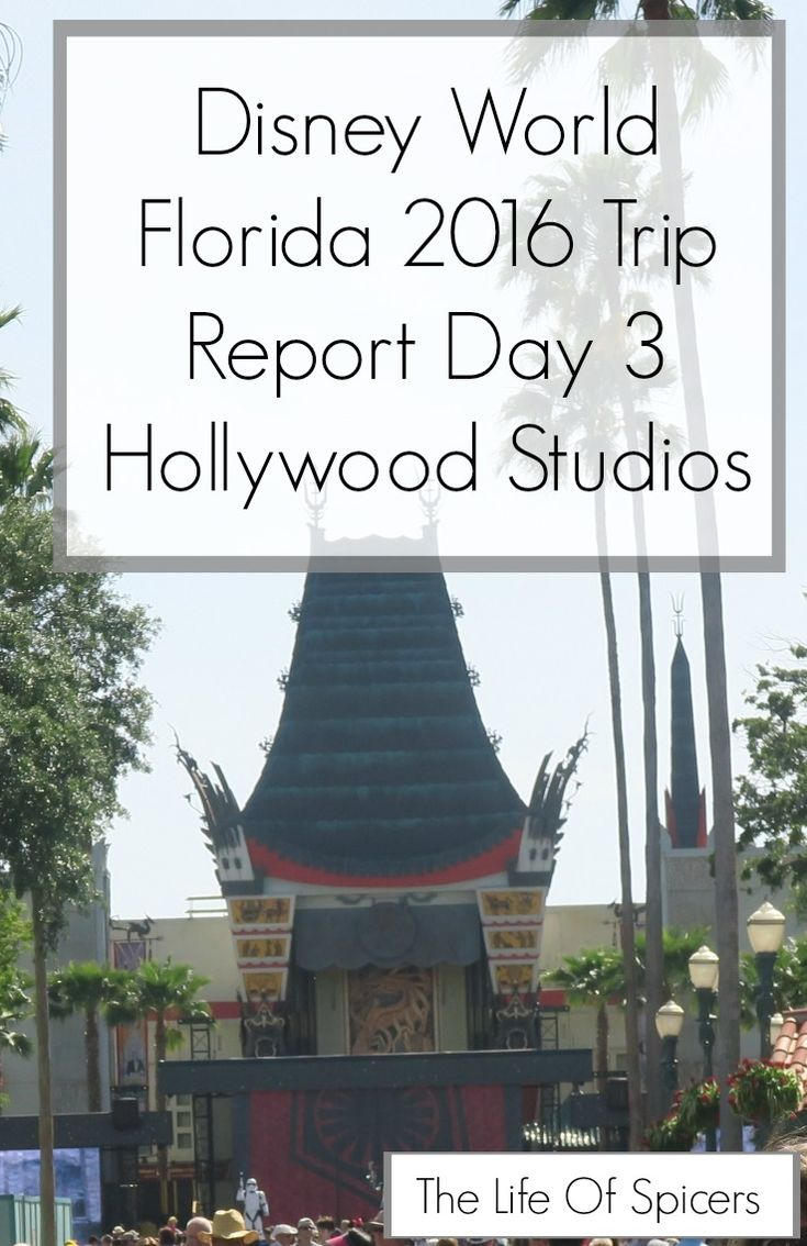 Disney World 2016 Diary - Hollywood Studios Day 3 - The Life Of Spicers