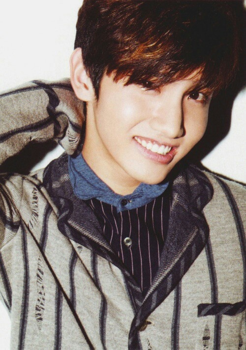 TVXQ Changmin. that smile.... *dreamy look*