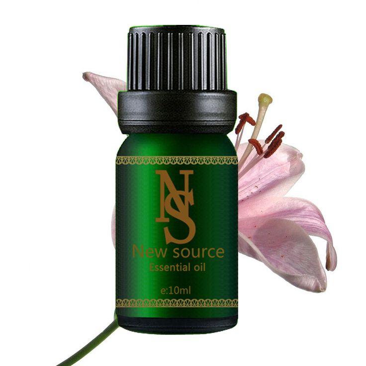 Minyak esensial murni tanaman minyak lily 10ml pelembab mengupas dan memurnikan Aromatherapy oil A1