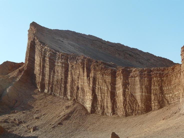 Anfiteatro del Valle de la Luna.Desierto de Atacama , Chile