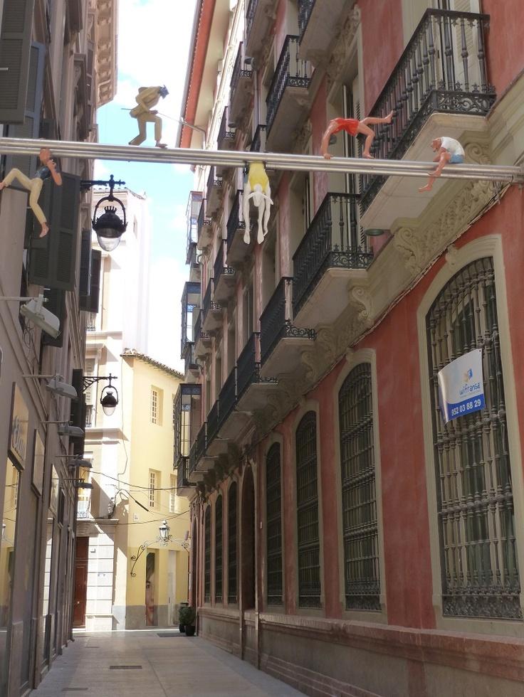 Malaga street June 2013