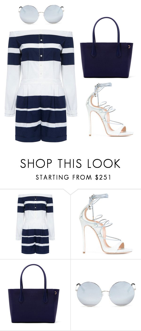 """""""Summer"""" by ale-pink5 ❤ liked on Polyvore featuring 10 Crosby Derek Lam, Dsquared2 and Matthew Williamson"""