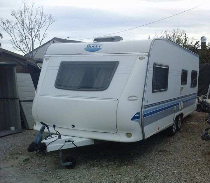 2003 Hobby Prestige 620 Pre-Owned Touring Caravan For Sale In Benidorm, Costa Blanca, Spain. Ready to be toured with or sited on your favourite Benidorm Caravan Park. Log book present. Unaltered ca...