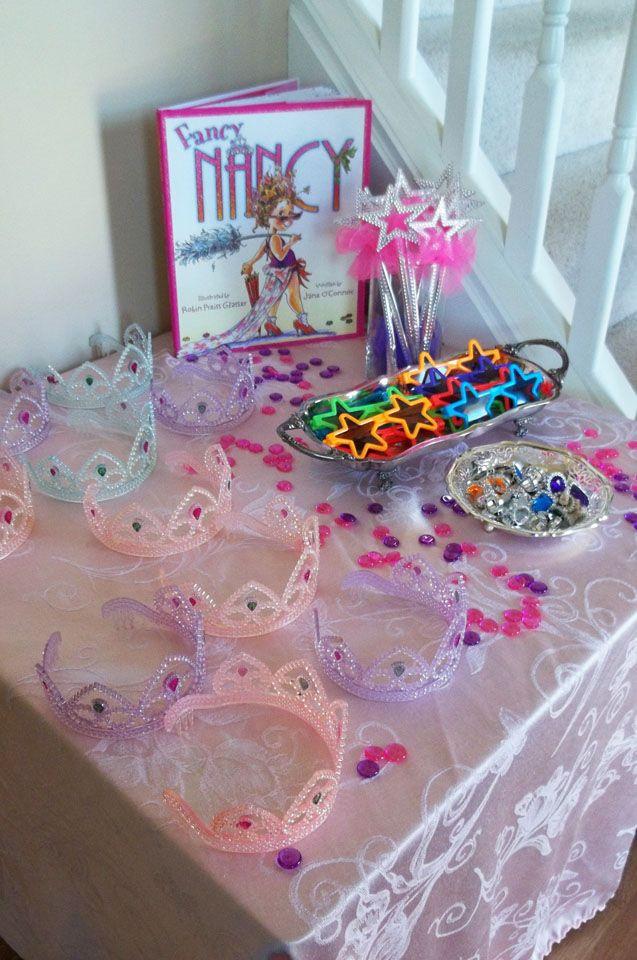 Fancy Nancy Party Dress Up Wands, Sunglasses, Rings, Tiaras