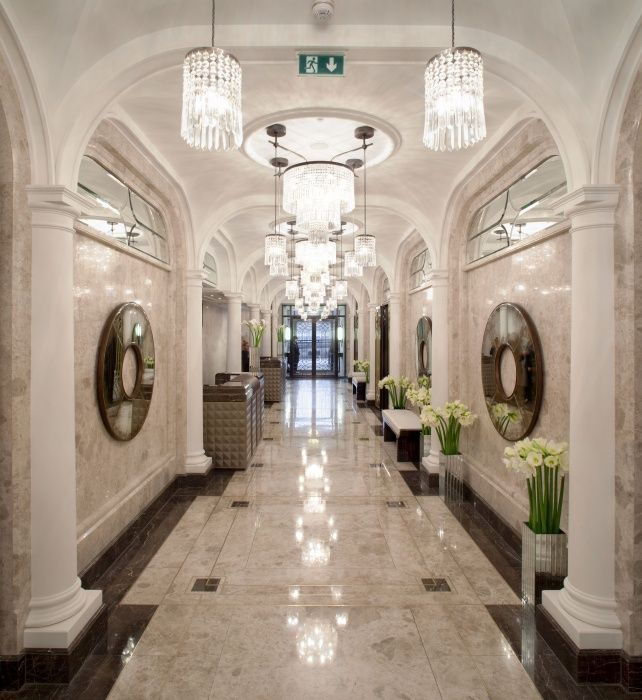 The Wellesley London Main Hallway Art Deco Wellesley
