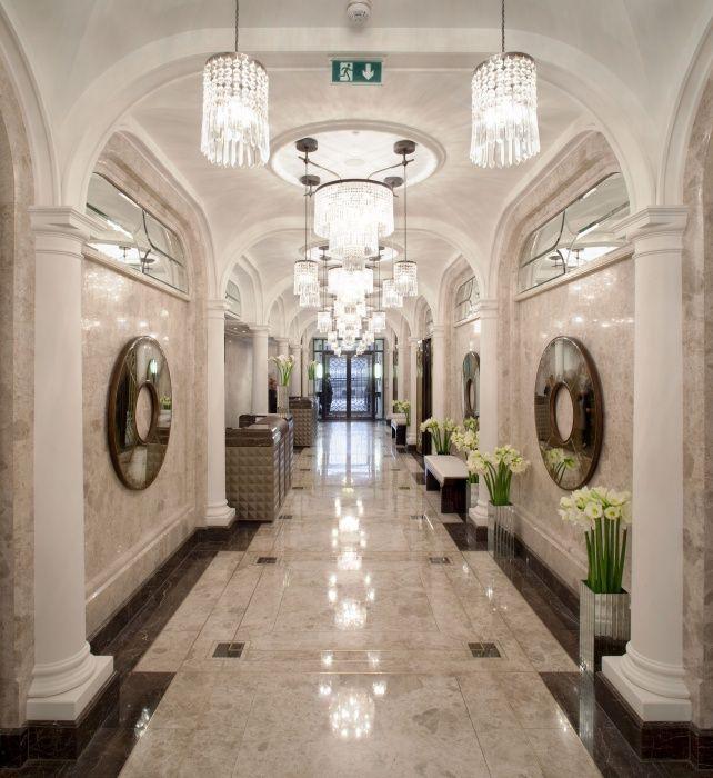 The Wellesley London Main Hallway Art Deco Wellesley