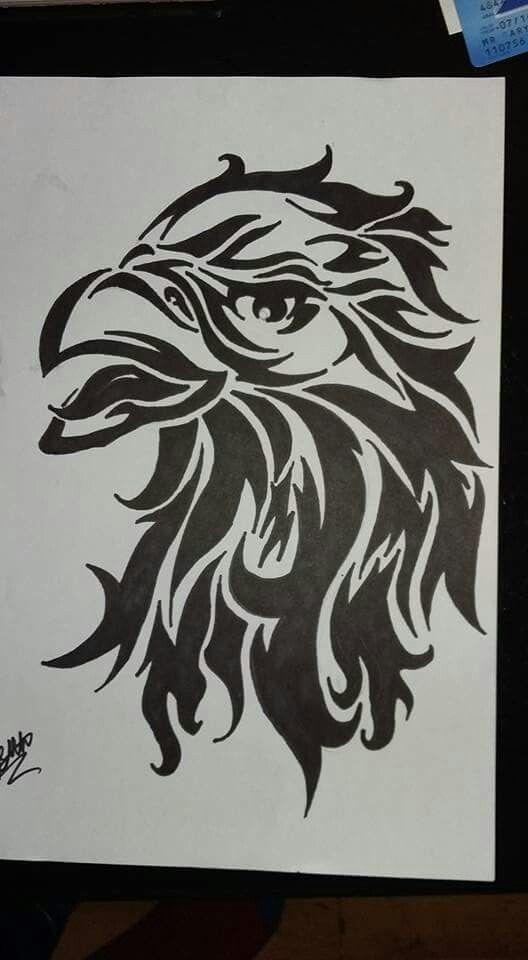 My 2nd #tribal #eagle