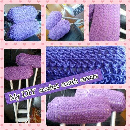 Diy Minion Book Cover : Diy crochet padded crutch covers project ideas