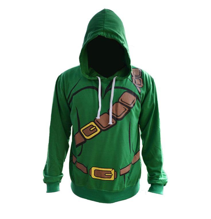 Legend Of Zelda Game Unisex Hoodie