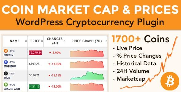 list of coin cryptocurrency