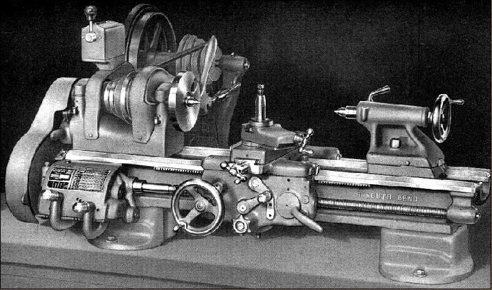 South Bend 9-inch Lathe