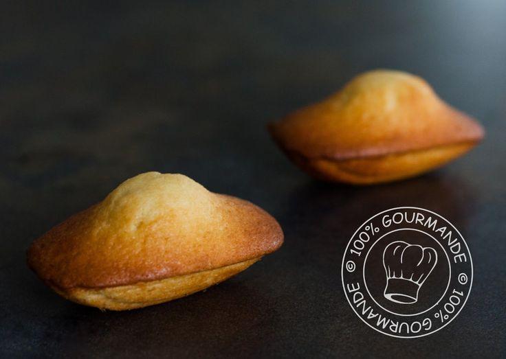 100%Gourmande . : Madeleines comme autrefois Recette Lenôtre